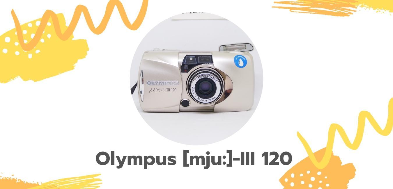 olympus mju II 120